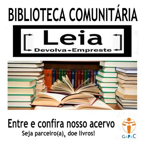 Biblioteca Comunitária GAPAC